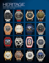 Catalog cover for 2020 June 9 Watches & Fine Timepieces Signature Auction - Dallas