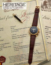Catalog cover for 2020 December 8 Watches & Fine Timepieces Signature Auction - Dallas
