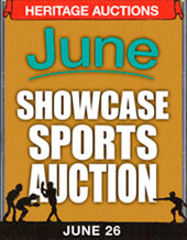 Catalog cover for 2021 June 26 Sports Showcase Auction