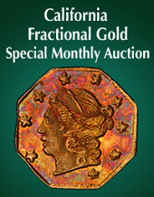 Catalog cover for 2020 June 15 California Fractional Gold US Coins Special Monthly Auction