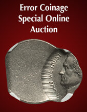 Catalog cover for 2020 August 15 Error Coinage US Coins Special Monthly Auction