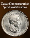 2020 September 15 Classic Commemoratives US Coins Special Monthly Auction
