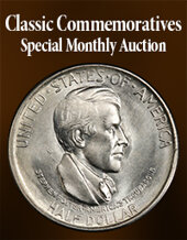 Catalog cover for 2020 September 15 Classic Commemoratives US Coins Special Monthly Auction