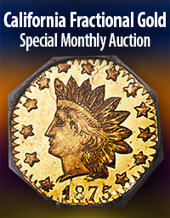 Catalog cover for 2020 October 22 California Fractional Gold US Coins Special Monthly Auction
