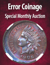 Catalog cover for 2020 December 15 Error Coinage US Coins Special Monthly Auction