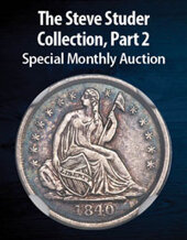 Catalog cover for 2021 February 9 The Steve Studer Collection, Part 2 US Coins Special Monthly Auction
