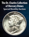 2021 February 22 The Dr. Charles Collection Of Mercury Dimes US Coins Special Monthly Auction