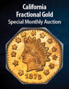 2021 March 15 California Fractional Gold US Coins Special Monthly Auction