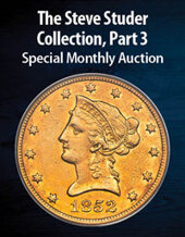 Catalog cover for 2021 March 22 The Steve Studer Collection, Part 3 US Coins Special Monthly Auction