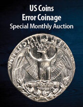 Catalog cover for 2021 April 15 Error Coinage US Coins Special Monthly Auction