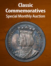 2021 May 15 Classic Commemoratives US Coins Special Monthly Auction