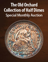 Catalog cover for 2021 May 29 The Old Orchard Collection of Half Dimes US Coins Special Monthly Auction