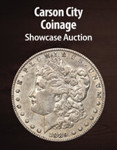 Catalog cover for 2021 June 15 Carson City Coinage Showcase Auction