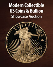 Catalog cover for 2021 June 29 Modern Collectible and Bullion US Coins Showcase Auction