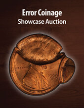 Catalog cover for 2021 July 15 Error Coinage Showcase Auction