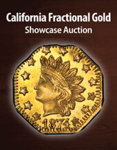 Catalog cover for 2021 July 22 California Fractional Gold Showcase Auction