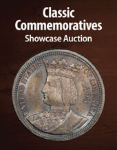 Catalog cover for 2021 August 15 Classic Commemoratives Showcase Auction