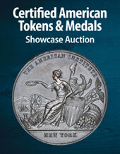 Catalog cover for 2021 August 22 Certified American Tokens & Medals Showcase Auction