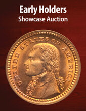 Catalog cover for 2021 August 26 Early Holders US Coins Showcase Auction