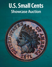 Catalog cover for 2021 August 29 U. S. Small Cents Showcase Auction