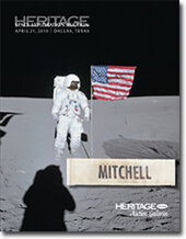 Catalog cover for 2010 April Grand Format Space Exploration Auction