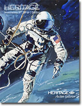 Catalog cover for 2010 November Dallas Signature Space Exploration Auction