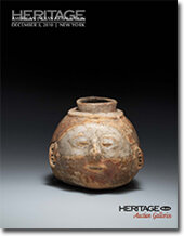 Catalog cover for 2010 December New York Signature American Indian Art Auction