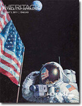 Catalog cover for 2011 June Dallas Signature Space Exploration Auction