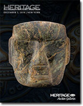 Catalog cover for 2010 December New York Signature Pre-Columbian Art Auction