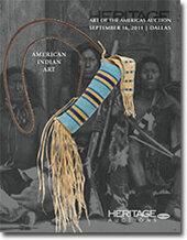 Catalog cover for 2011 September Dallas Signature Art of the Americas: American Indian and Pre-Columbian Art