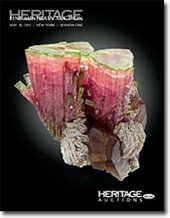 Catalog cover for 2012 May 20 Natural History & Fine Minerals Signature Auction- New York