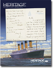 Catalog cover for 2012 October 4-5 Historical Manuscripts Signature Auction - Beverly Hills