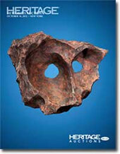 Catalog cover for 2012 October 14 Natural History Signature Meteorite Auction - New York