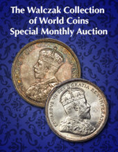 Catalog cover for 2020 June 28 The Walczak Collection of World Coins Special Monthly Online Auction