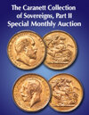 2020 July 12 The Caranett Collection of Sovereigns, Part II World Coins Special Monthly Online Auction