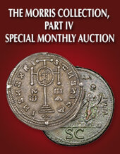 Catalog cover for 2020 May 10 Ancient Coins Selections from the Morris Collection, Part IV World Coins Special Monthly Online Auction
