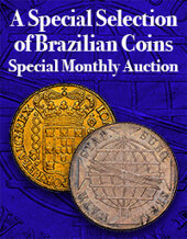 Catalog cover for 2020 July 26 A Special Selection of Brazilian Coins World Coins Special Monthly Online Auction