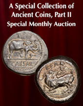 Catalog cover for 2021 May 16 A Special Collection of Ancient Coins, Part II Special Monthly Online Auction