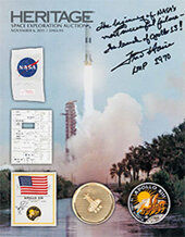 Catalog cover for 2015 November 6 Space Exploration Signature Auction - Dallas