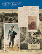 Catalog cover for 2016 September 17 Lincoln and His Times  A joint Auction by Heritage Auctions and The Rail Splitter in Recognition of the 20th Anniversary of The Railsplitter Americana & Political Grand Format Auction - Dallas