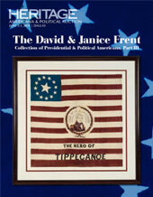 Catalog cover for 2018 June 2-3 The David and Janice Frent Collection of Presidential & Political Americana, Part 3