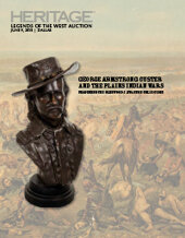 Catalog cover for 2018 June 9  GEORGE ARMSTRONG CUSTER AND THE PLAINS INDIAN WARS Featuring the Glenwood J. Swanson Collection  Legends of the West Signature Auction - Dallas