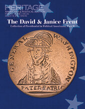 Catalog cover for 2018 March 10 The David and Janice Frent Collection of Political & Presidential Americana, Part 2 Internet Session