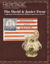 Catalog cover for 2018 November 10-11 The David and Janice Frent Collection of Presidential & Political Americana, Part 4