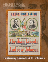 Catalog cover for 2019 November 2 Lincoln and His Times Americana & Political Signature Auction - Dallas