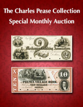 Catalog cover for 2020 June 28 The Charles R. Pease Collection Special Currency Online Auction