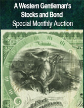 Catalog cover for 2021 February 28 A Western Gentleman's Stocks and Bonds Special Online Auction