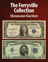 Catalog cover for 2021 September 19 The Ferryville Collection Currency Showcase Auction