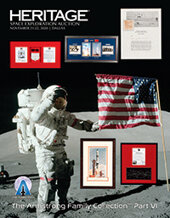 Catalog cover for 2020 November 21 - 22 Space Exploration Signature Auction - Dallas