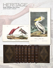 Catalog cover for 2021 June 9 - 10 Rare Books Signature Auction - Dallas